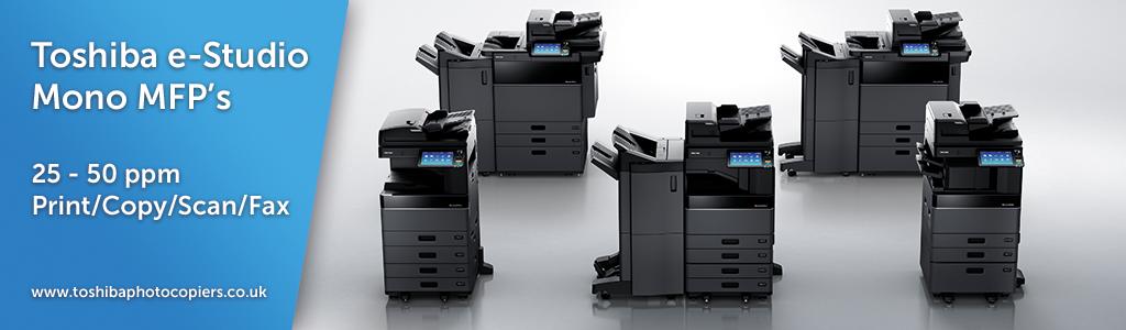 Toshiba Photocopiers | e-Studio Mono MFP's